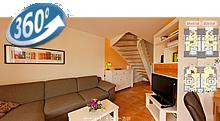 Ferienhaus Wietblick und Utblick in 360 Grad Ansicht
